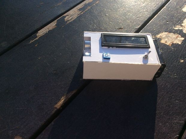 DIY Digital Tape Measure