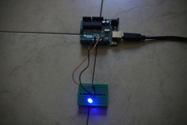 LED Fade using Arduino Uno