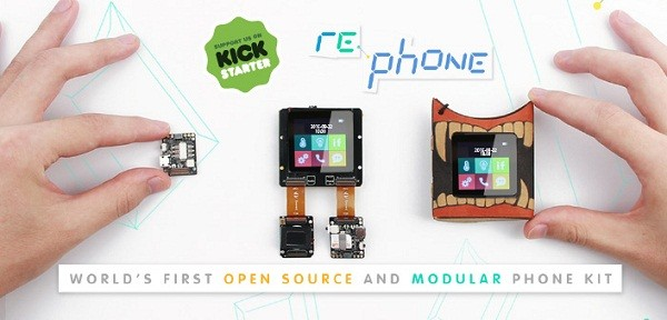 RePhone kit:  World's first open source and modular phone