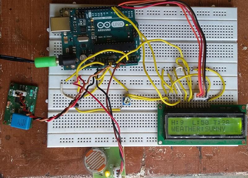 Arduino Weather machine
