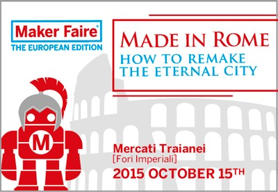 Maker Faire Rome Starts today!