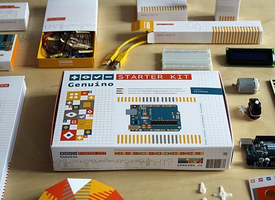 Arduino team (proudly) presents Genuino Starter Kit!