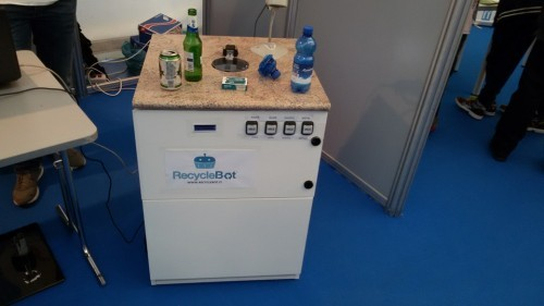 RecycleBot: a solution to definitely cope with domestic recycling!