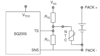 App note: Fast charging control with NTC temperature sensing