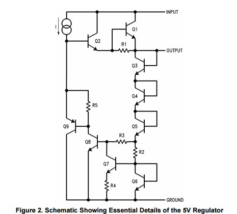 App note: AN-42 IC provides on-card regulation for logic circuits