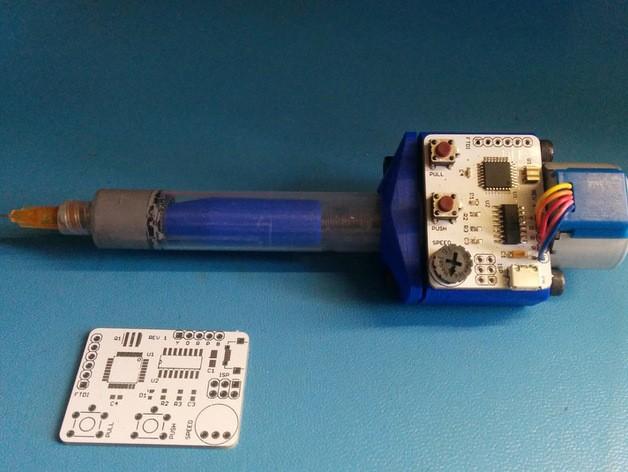 Arduino Motorized SMT Solder Paste Dispenser