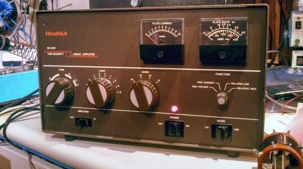Repairing the TUNE capacitor on the Heathkit HL2200 (SB-220) amplifier