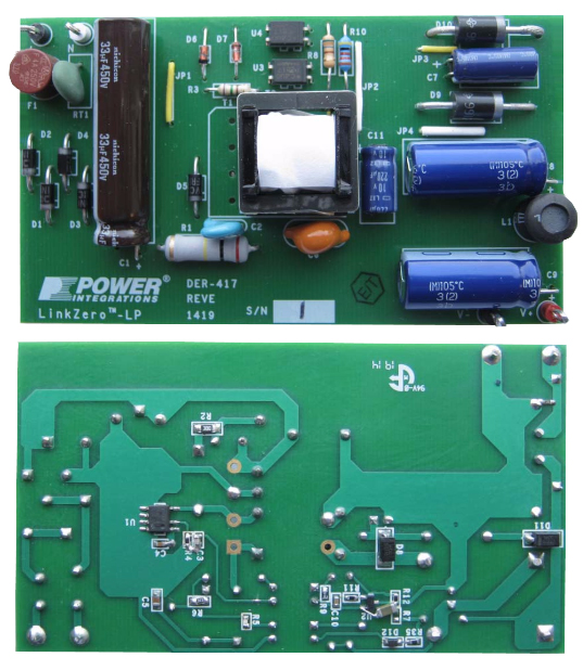 8 W Standby Power Supply Unit Using LinkZero-LP