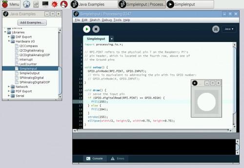 Processing for Raspberry Pi