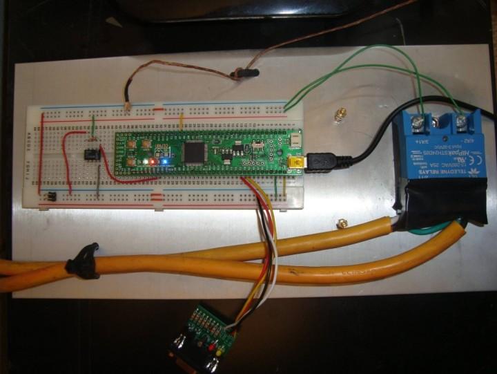 Build a Simple Toaster Oven Temperature Profile Controller