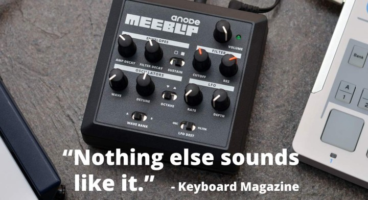 Meeblip open source synthesizers