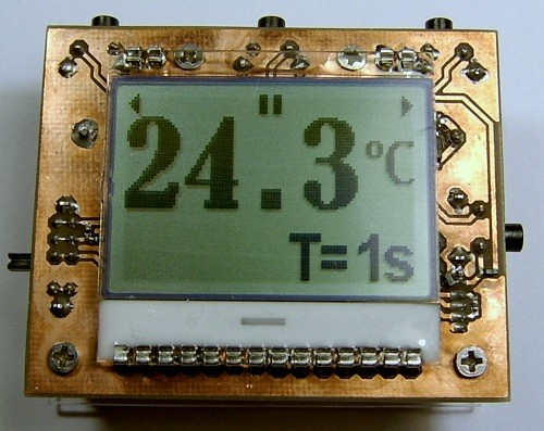 Con-tactless Thermometer – Pyrometer