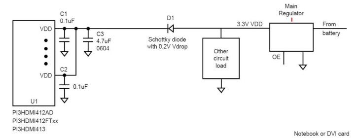 The Circuits for Leakage Prevention in Source Application