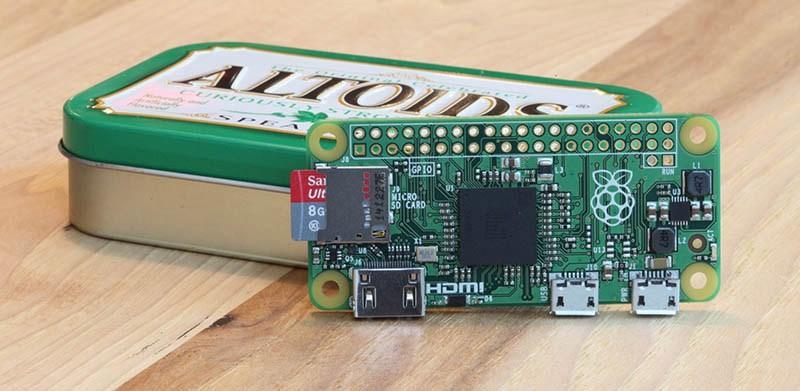 Raspberry Pi Zero, or Minus One?