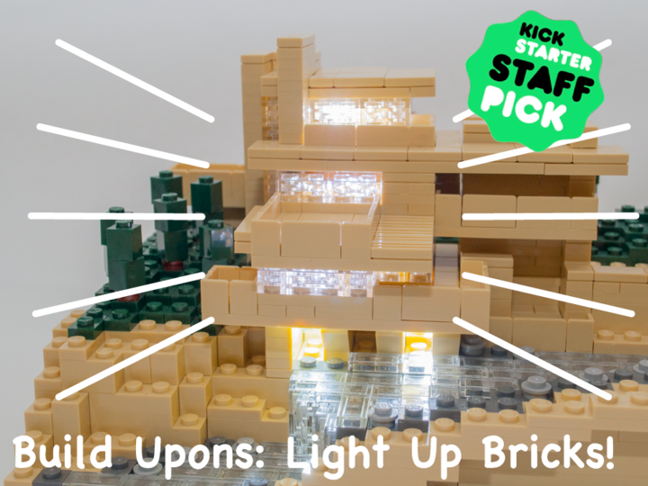 """Christmas DIY project for children 1/3: """"Build Upons"""" World's Tiniest Light Up Bricks"""
