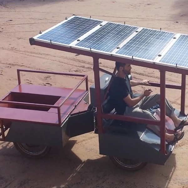 Light Electric Utility Vehicle Wins Third Hackaday Prize 2015