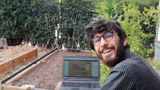 FarmBot the Open Source Farming CNC Robot