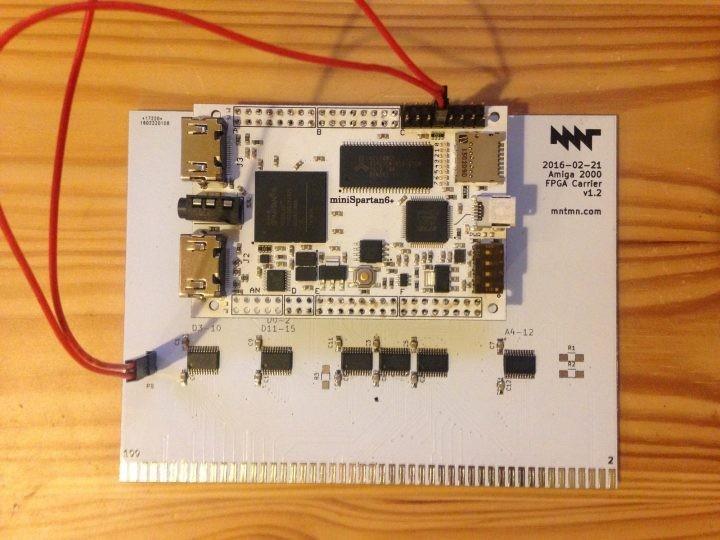 MNT VA2000, an Amiga 2000 Graphics Card