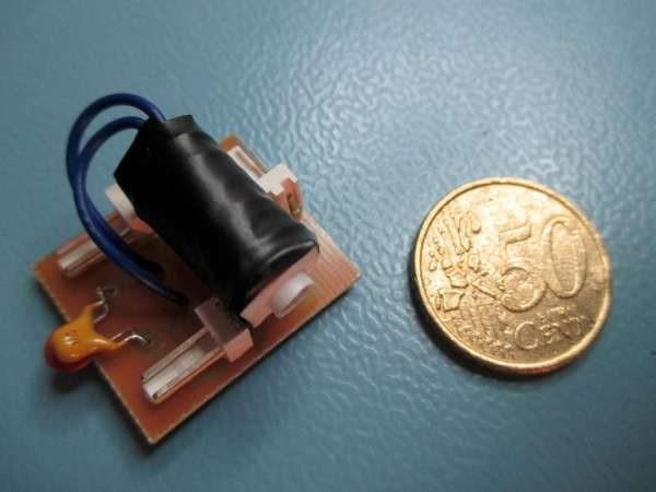 3V3/30V DC/DC converter using SN6505A