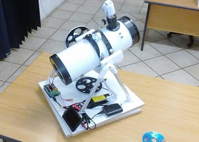 PiScope Raspberry Pi Optical Tracking Telescope