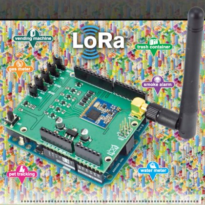 Creating a Network of Nodes with LoRa Shield