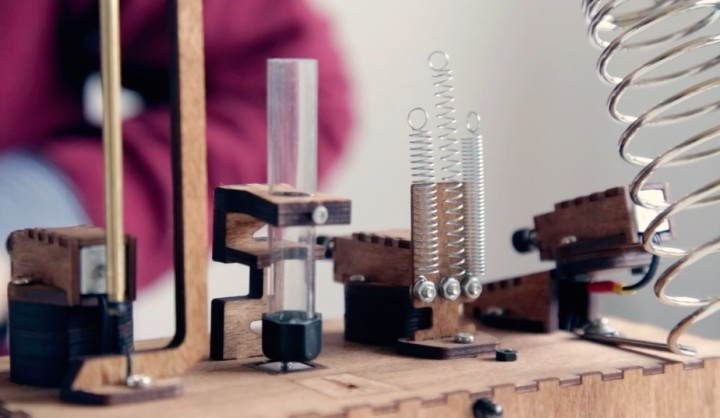 Koka's Beat Machines are electromechanical instruments