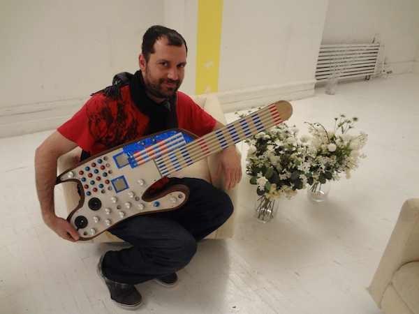 SMOMID is a Mega-powered MIDI guitar