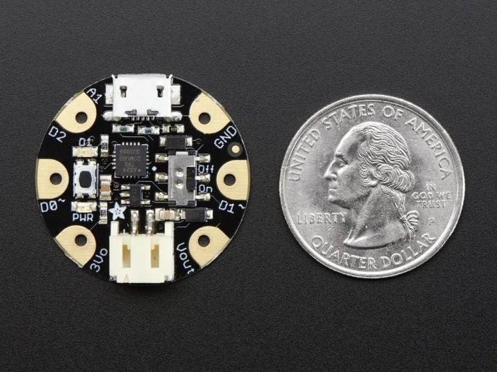 Adafruit GEMMA v2 – Miniature wearable electronic platform