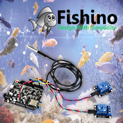 Create a connected Fish Tank with Fishino
