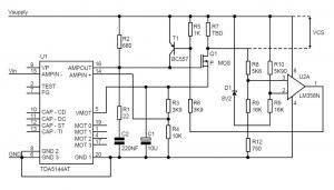 Current Limiter for the Motor Control ICs of the TDA514x-family