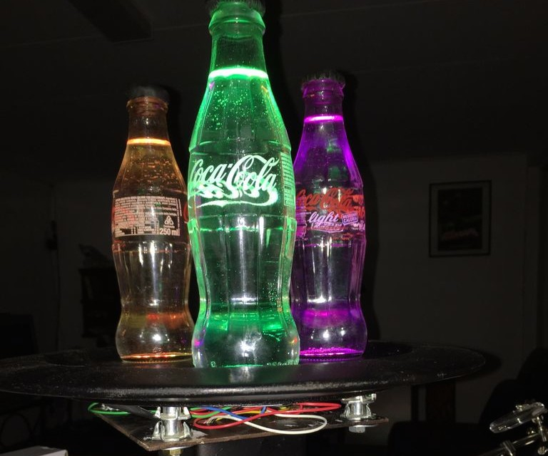 Get the party started with these coke bottle lights