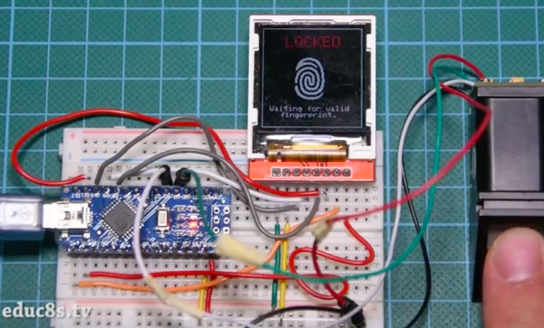 Add biometric security to your next Arduino project