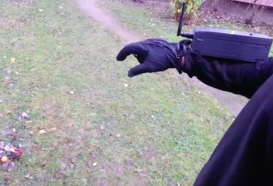 Control your DIY quadcopter with one hand
