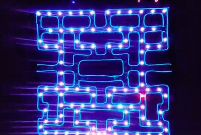 Arduino Pro Mini powers this Pac-Man festival totem