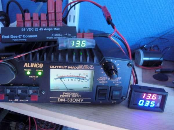 DIY Powerpole voltage and current meters