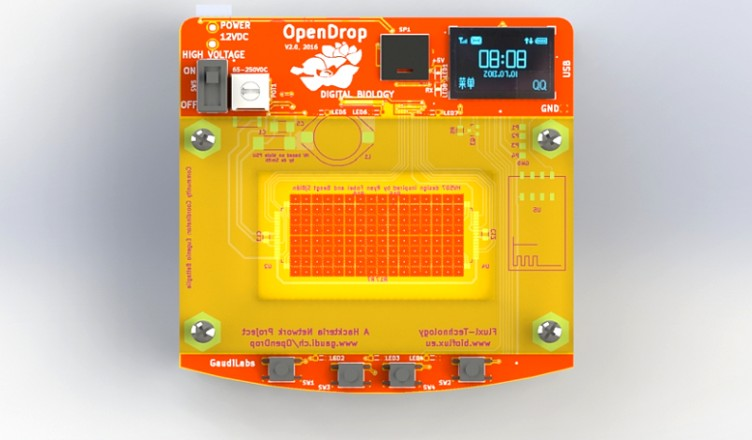 OpenDrop – Desktop Digital Biology Laboratory