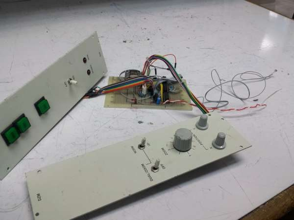 ESP8266 control panel upgrade