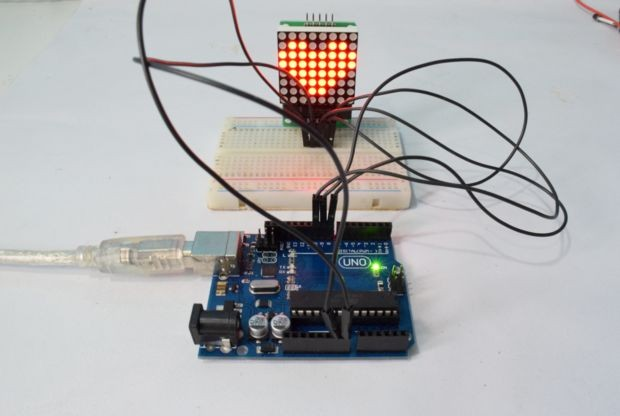 How to control a common-cathode RGB LED matrix