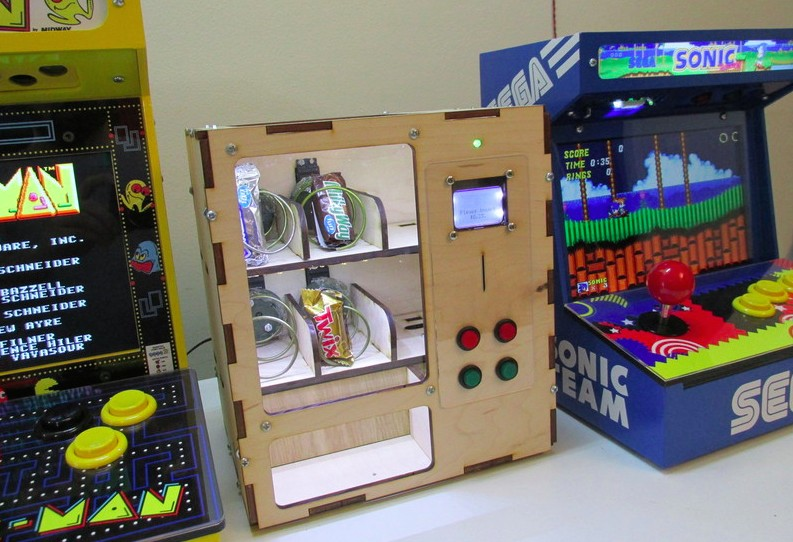 Venduino is a DIY Arduino vending machine