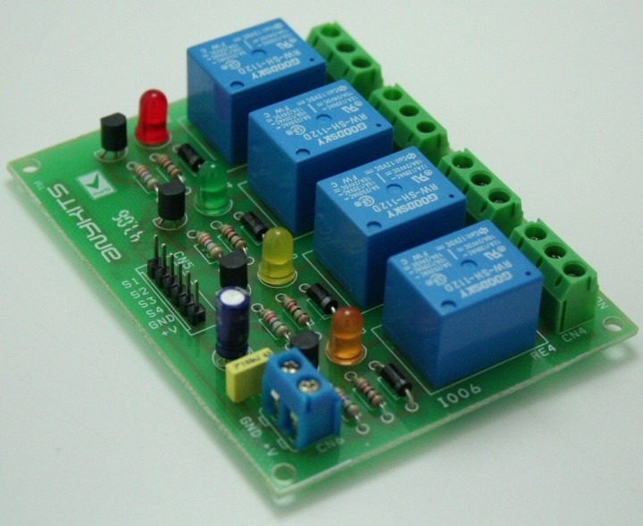 4 Channel Relay Board