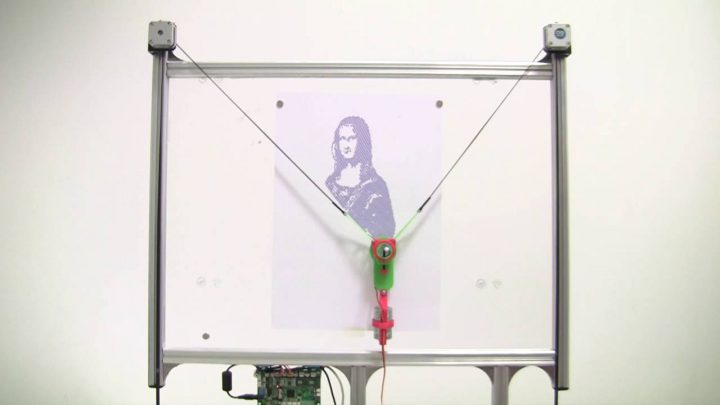 How to make an Open Source Vertical Plotter