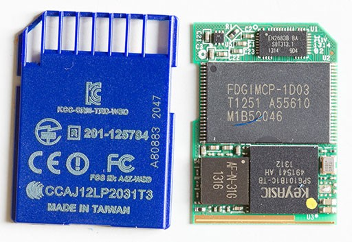 Exploring the Transcend Wifi-SD card