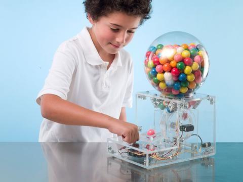 Make a Secret-Knock Candy Machine with Arduino