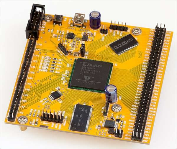 Old, not obsolete. Working with the Xilinx Virtex-E FPGA in a huge BGA package