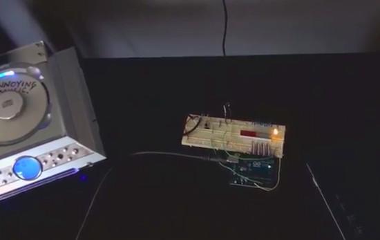 Maker uses Arduino to get revenge on his noisy neighbors