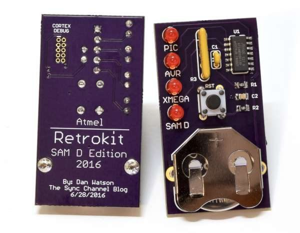 Atmel Retrokit SAM D Edition
