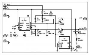 Circuit Guards Amplifier Outputs Against Overvoltage