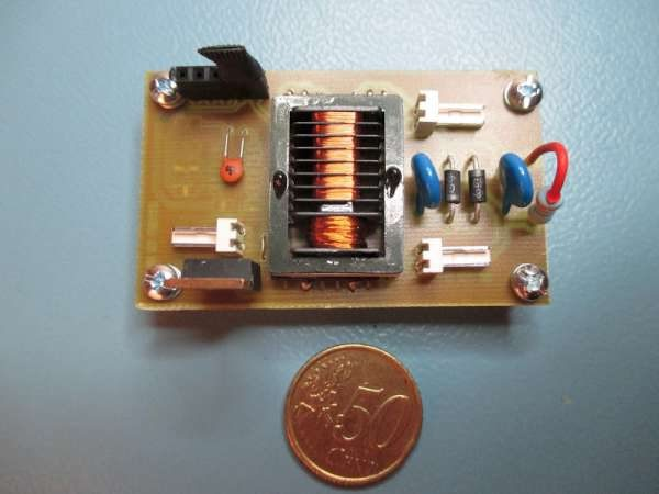 9V to 1kV DC to DC converter