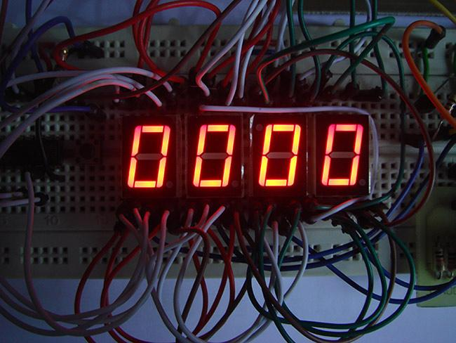 Build This DIY Stopwatch using Digital IC 4026 and 4017