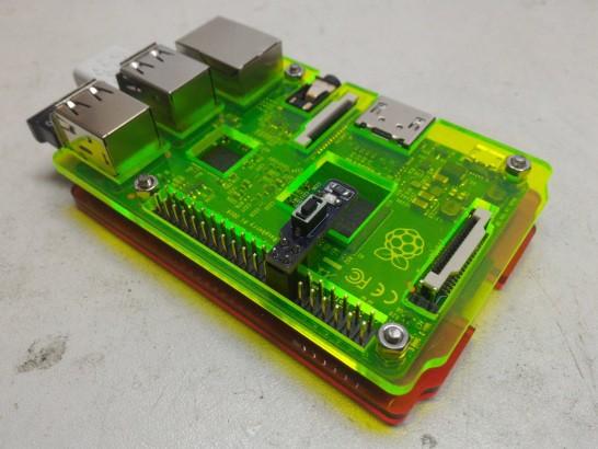 Homebrew Raspberry pi shutdown button